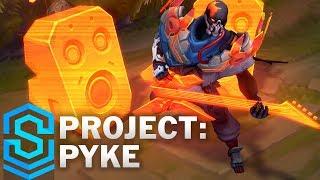 PROJECT: Pyke Skin Spotlight - Pre-Release - League of Legends
