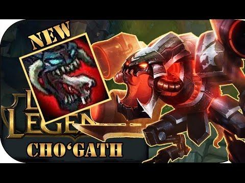 DER NEUE CHO'GATH TOP   League of Legends Gameplay deutsch