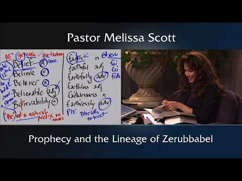 Jeremiah 25:1-14 & 29:10 Prophecy And The Lineage Of Zerubbabel - Footnote To Nehemiah #8