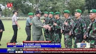 Ratusan Personel Satgas Yonif 410 Diberangkatkan ke Papua