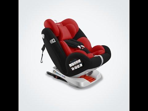 Mamaland Carmind Adjustable Convertible Isofix Lay Flat Baby Kid Car Seat - Carmind 360°