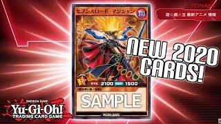 Yu-Gi-Oh! NEW MASTER RULE 2020 ANIME & RUSH DUEL CARDS!