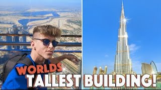 ON TOP OF THE WORLDS TALLEST BUILDING!!! (Burj Khalifa, Dubai)