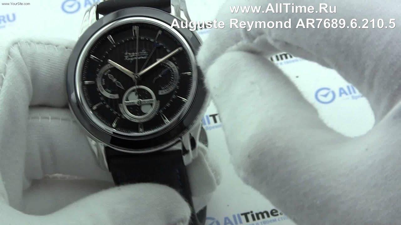 Часы Auguste Reymond AR7682.6.210.5 Часы Earnshaw ES-8063-05