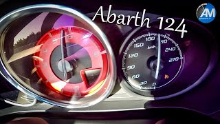 Abarth 124 Spider - 0-220 km/h acceleration!🏁
