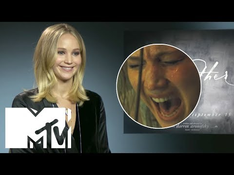 Jennifer Lawrence REACTS To Mother! Ending | MTV Movies
