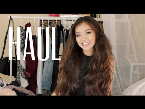 Fall/ Winter Haul 2014| Viviannnv Collection, VS, Mink Pink