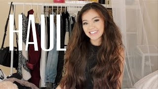 Fall/ Winter Haul 2014| Viviannnv Collection, VS, Mink Pink Thumbnail