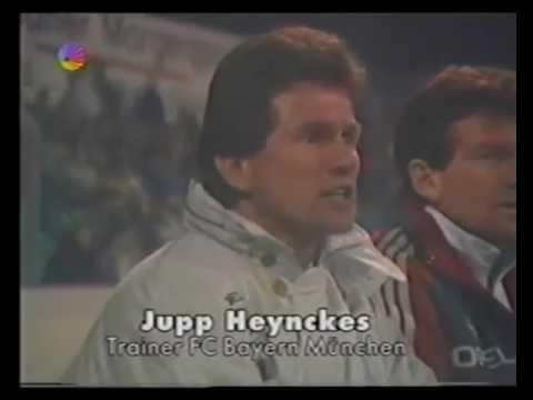 Dynamo Dresden vs Bayern Munchen - Deutschland Cup 1990