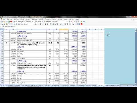Hướng dẫn sử dụng Project 2010  Bài 4 Chí phí dự án và Tài nguyên Dự án