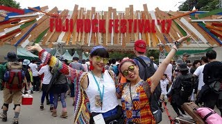 FUJI ROCK FESTIVAL 39 17 フジロック行ってきました ゆるVlog by ETSUYO エツヨエメラルド