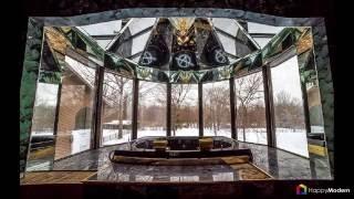 видео Зеркальные потолки в зале