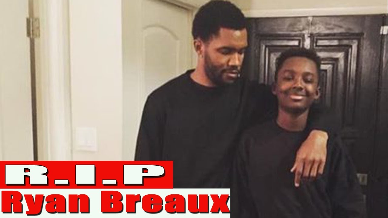 Ryan Breaux, Frank Ocean's Brother, Dead at 18 in Car Accident