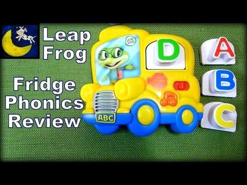 2014 LeapFrog Fridge Phonics Magnetic Letter Set, School Bus (Best Alphabet Toy!)