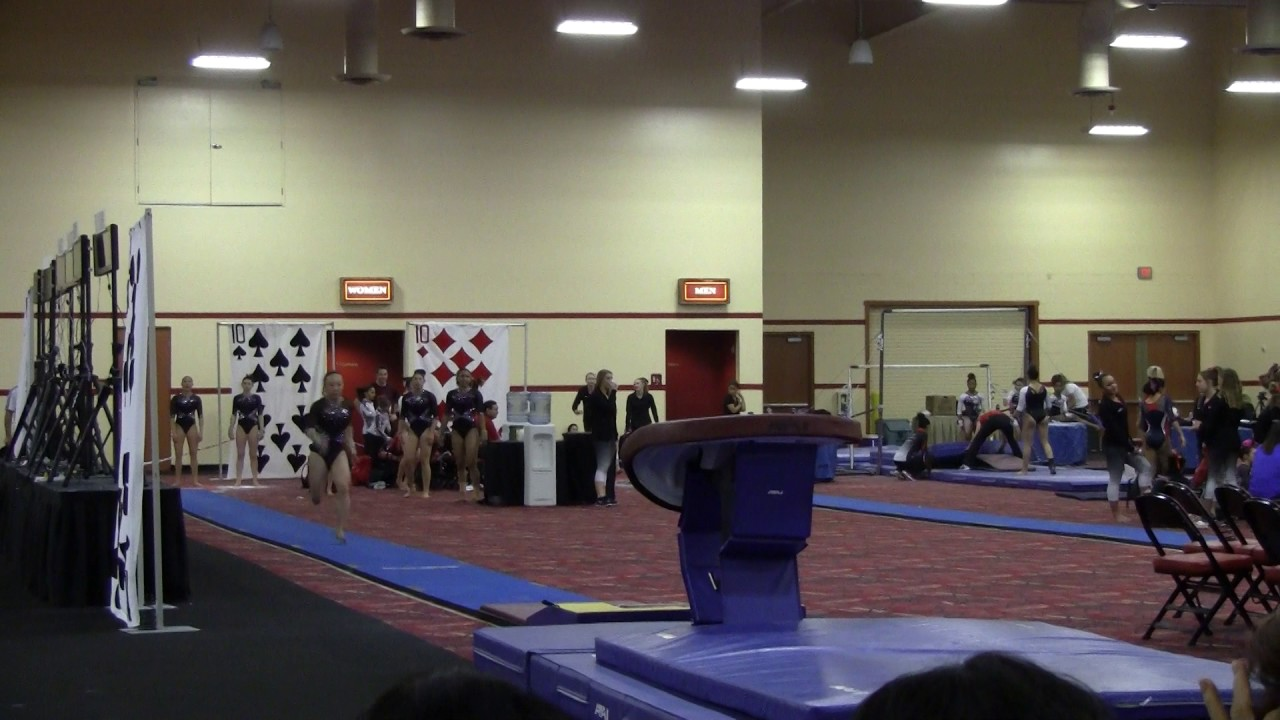 Blackjack gymnastics invitational 2018