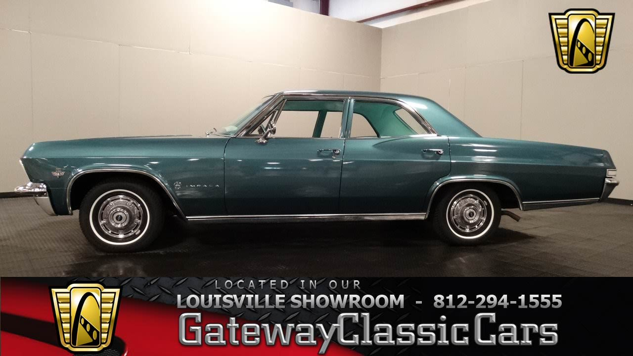 1965 Chevrolet Impala Louisville Showroom Stock 1041