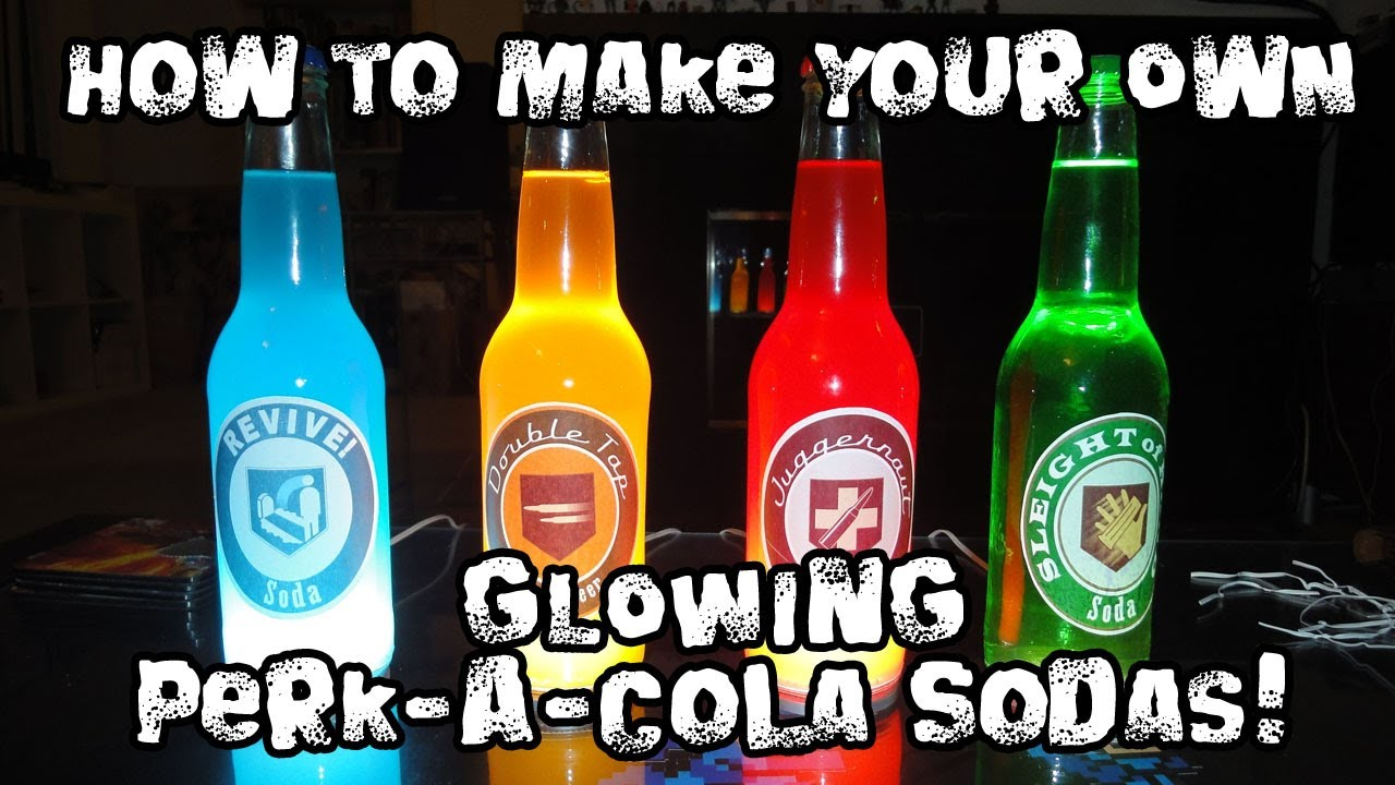 photograph regarding Printable Perk a Cola Labels called How in the direction of Crank out Your Individual Sparkling Perk-A-Cola Sodas!
