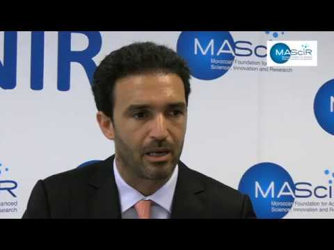 Fondation MAScIR - Visite de Mehdi Tazi