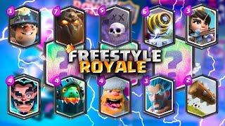 EL FREESTYLE DE LAS CARTAS LEGENDARIAS !!! | Navalha - Freestyle Royale