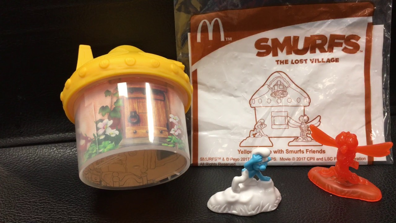 麥當勞mcdonald's happy meal toy 快樂兒童餐smurfs the lost village