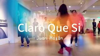 Claro Que Si. Juan Magan Fitness DanceOlivia Lo