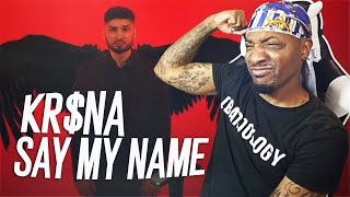 AMERICAN REACTS TO INDIAN RAP! - KR$NA - SAY MY NAME 🇮🇳