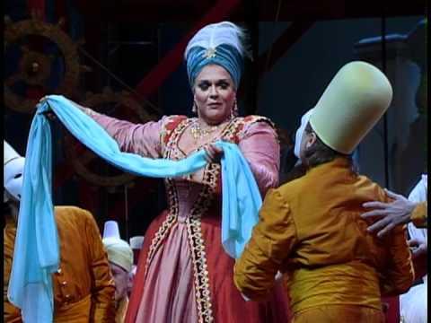 """Marilyn Horne as """"Samira the Turkish Entertainer"""""""