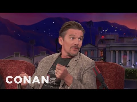 "Ethan Hawke Turned Down ""Independence Day""  - CONAN on TBS"
