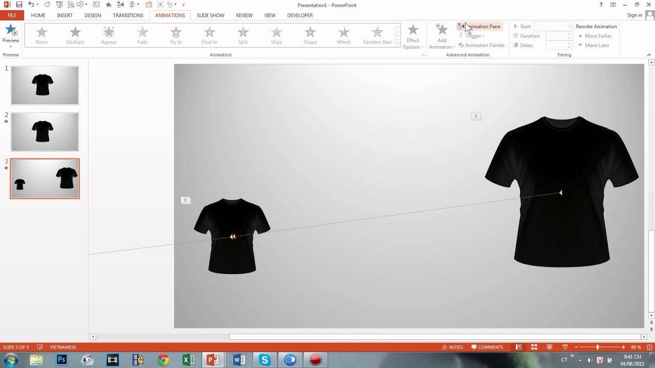 Hướng dẫn Powerpoint nâng cao: Thiết kế slide liền mạch