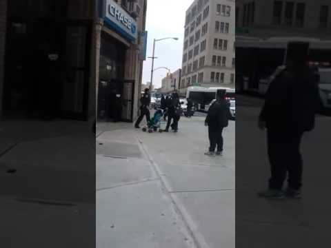Bronx man attempts  to rob chase bank in Tremont ave doesn't get shit(2)