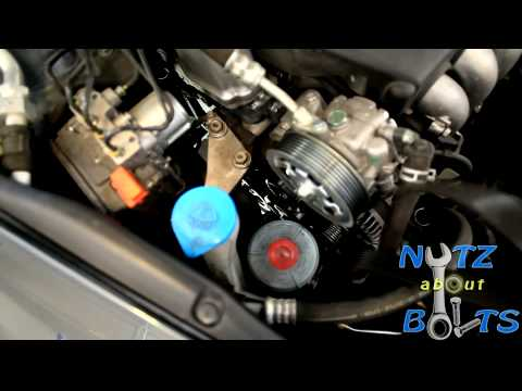 Honda Cr V Serpentine Belt Installation 2007 2011 In