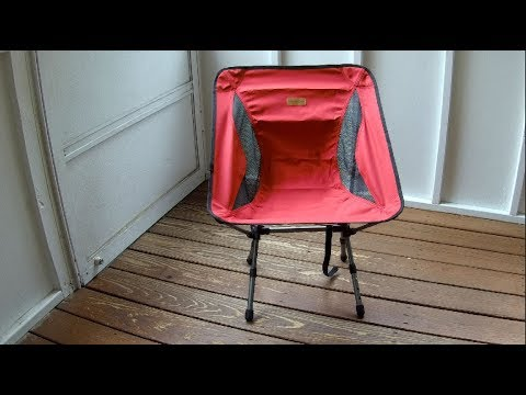 Compact... Trekology YIZI Go Portable Camping Chair Adjustable Height