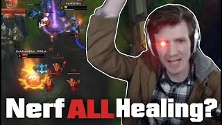 Hashinshin: Nerf ALL Healing? | Akali makes Hash go crazy!