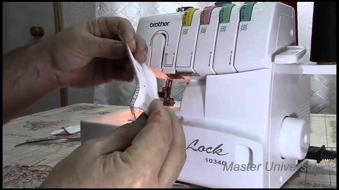 инструкция по заправке оверлока aeg