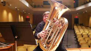 """""""The Pirate"""" Etude No. 18 from Low(er) Etudes for Tuba"""
