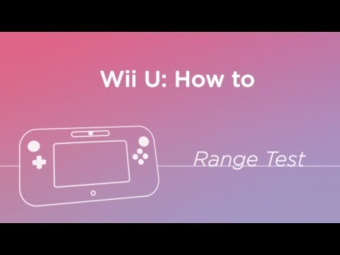 Wii U - Gamepad Range Test