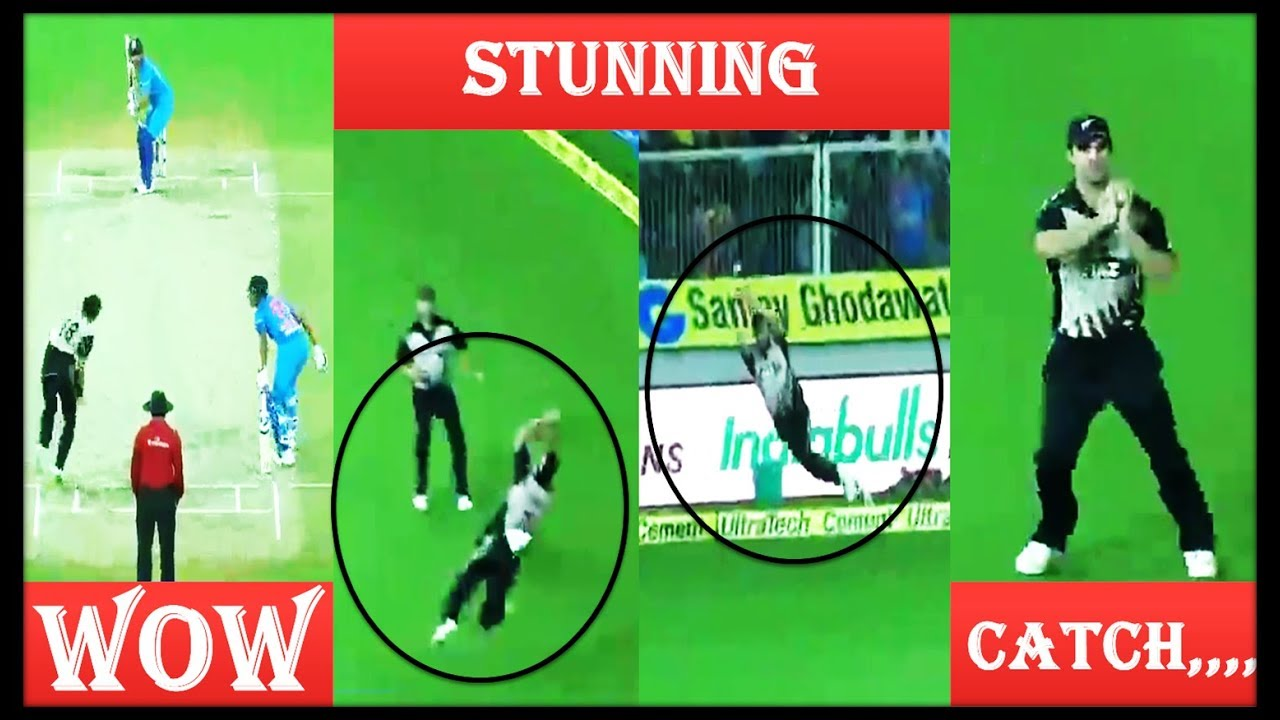 Wow Stunning Catch || India Vs New Zeland 3rd T20 2017 || 2 Two News Updates