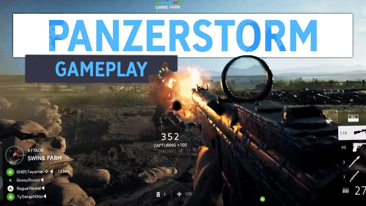 NEW PANZERSTORM GAMEPLAY! | Battlefield 5