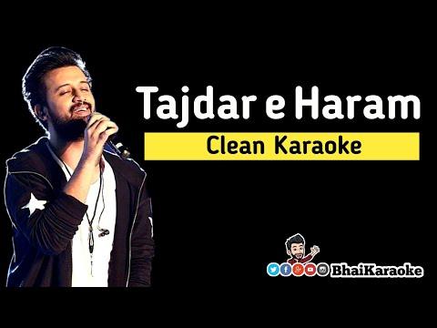 tajdar-e-haram-karaoke-with-lyrics-|-atif-aslam-|-coke-studio-|-bhaikaraoke