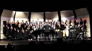 Sachse HS A Cappella Choir - 10/7/2010 - Living in a Holy City - Stephen Hatfield
