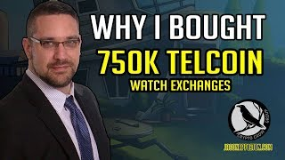 Why I bought 750,000 Telcoin