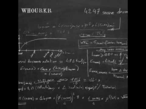 WHOURKR - Arithmetic Punishment (539 Snare Drums)