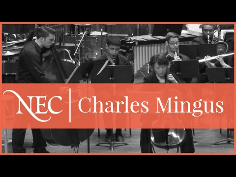New England Conservatory Wind Ensemble - Charles Mingus: Half-Mast Inhibition