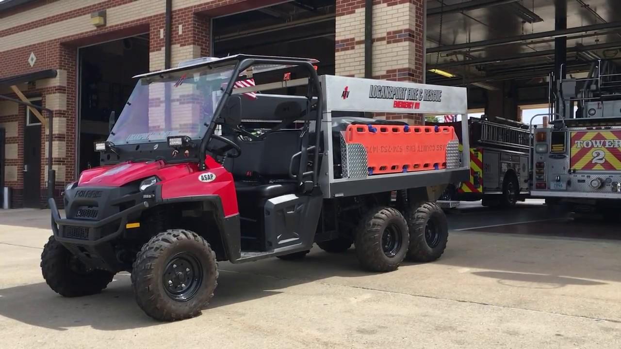 John Deere Utv >> Logansport Fire Department ATV - YouTube