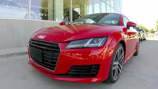 2016 Audi TT USA Quick Drive Review
