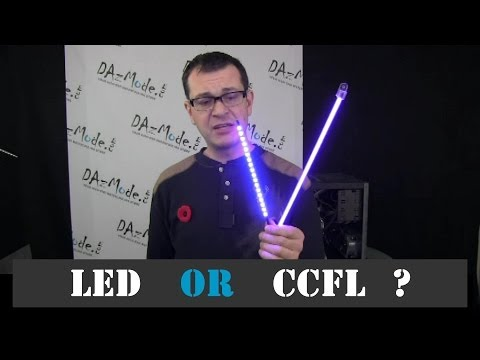 CCFL vs LED Lights - Selection Tips