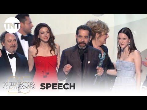 The Marvelous Mrs. Maisel: Award Acceptance Speech   25th Annual SAG Awards   TNT