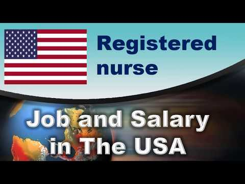 Registered Nurse Salary In The USA - Jobs And Wages In The United States