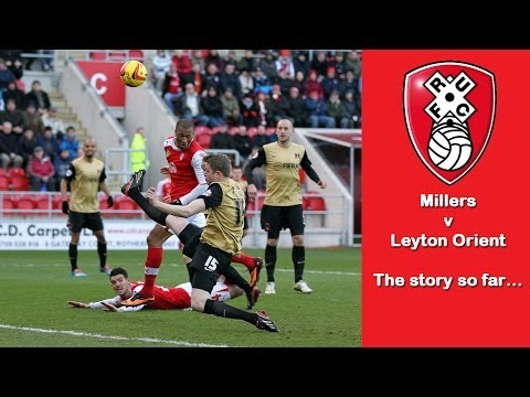 Rotherham United v Leyton Orient - The story so far