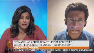 AlJazeera covers Dr Ritesh Maliks views on the 2nd wave of Covid in India & the distress in Delhi